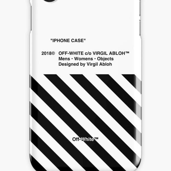 top fashion cedac 43bb0 OFF-WHITE X NIKE iPhone Case NWT